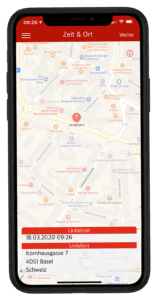 Accident Tool - Georeferenzierung